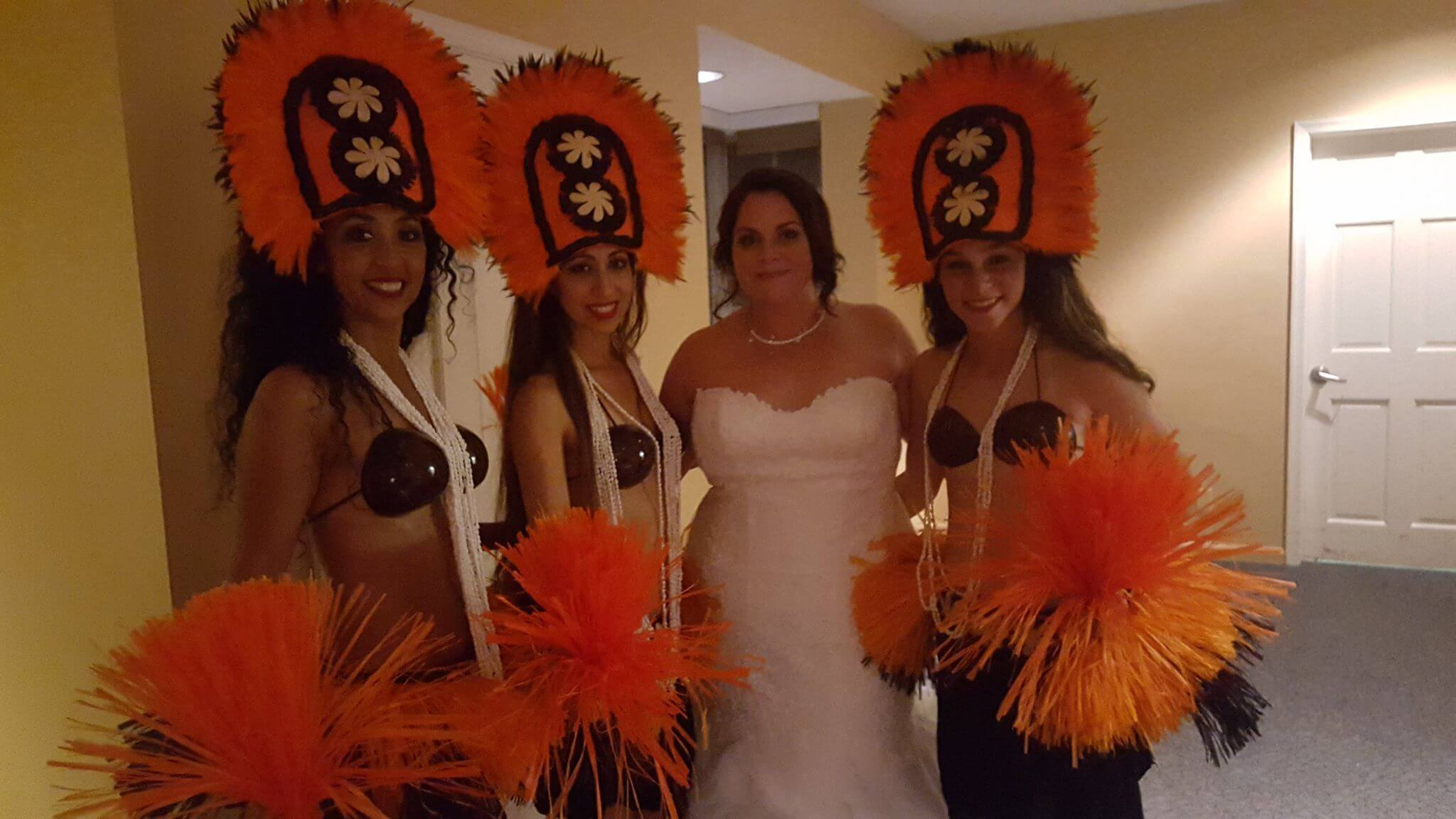 wedding hula dancers