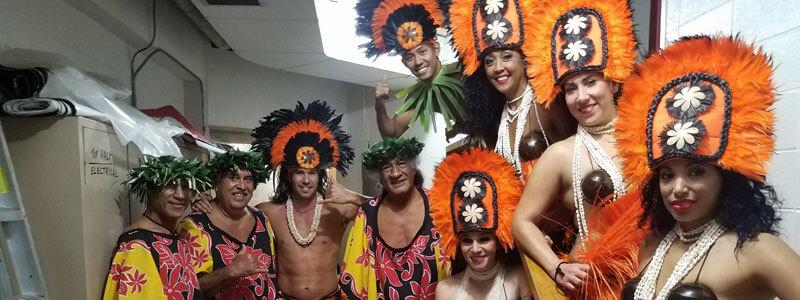 Polynesian Island Party Options