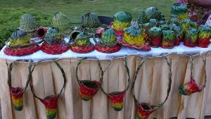 Hat-weaving-island-party